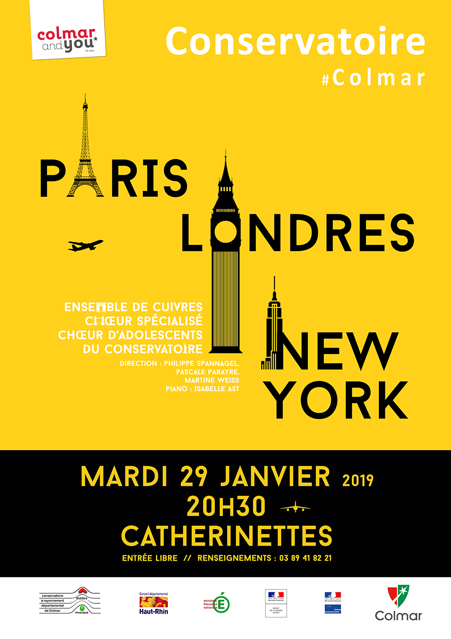 Paris-Londres-New York