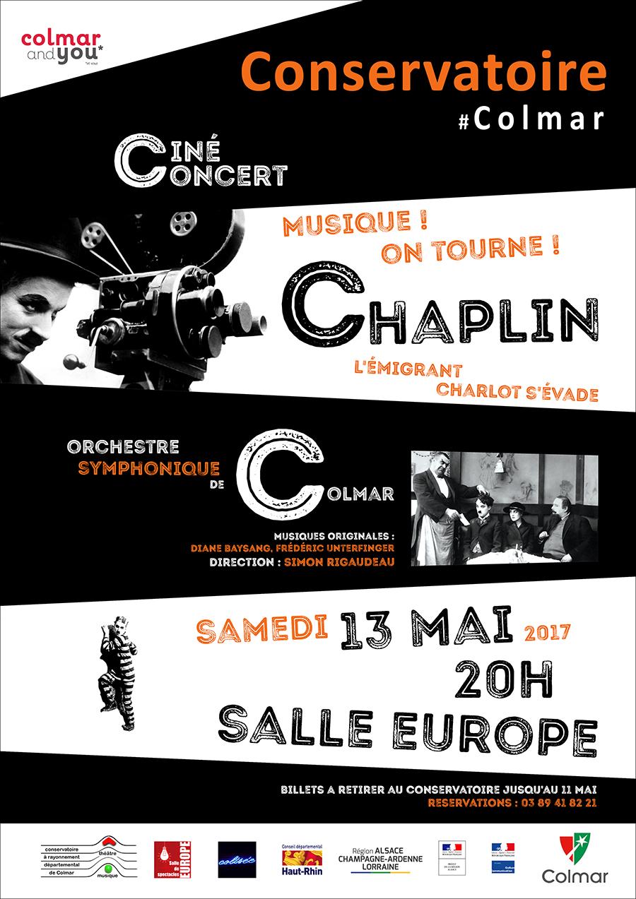 Ciné-concert Chaplin
