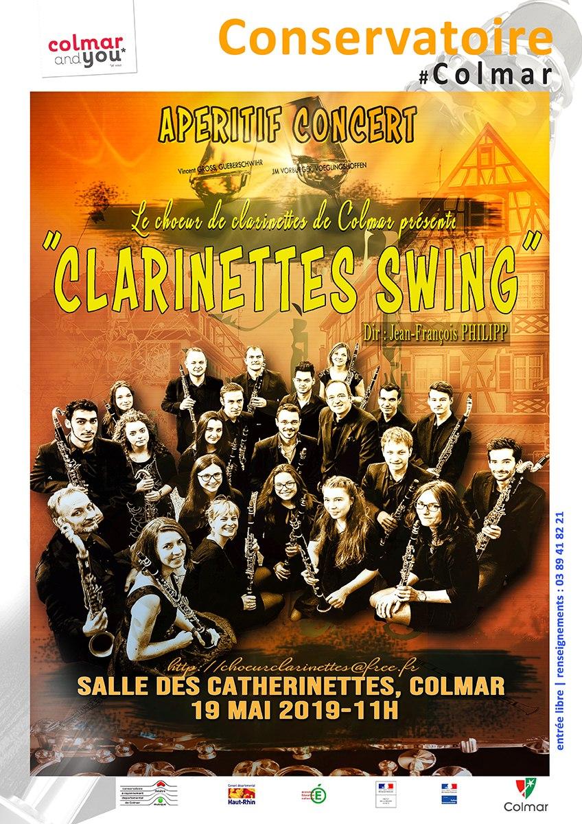 Clarinettes swing