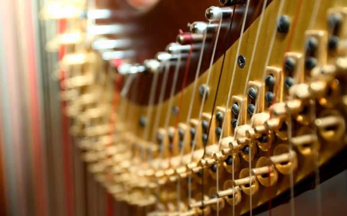 Audition de harpe