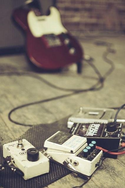 Audition de guitares et musiques actuelles