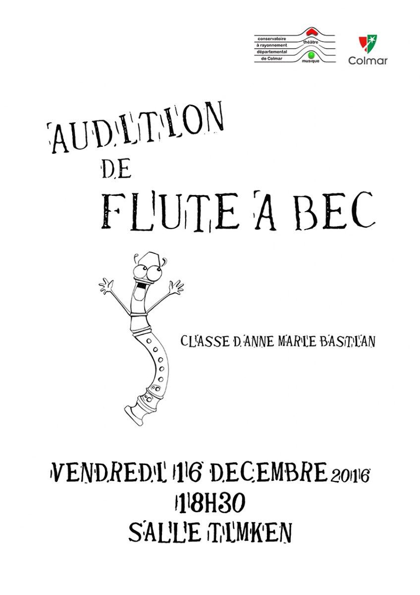 Audition de flûte à bec