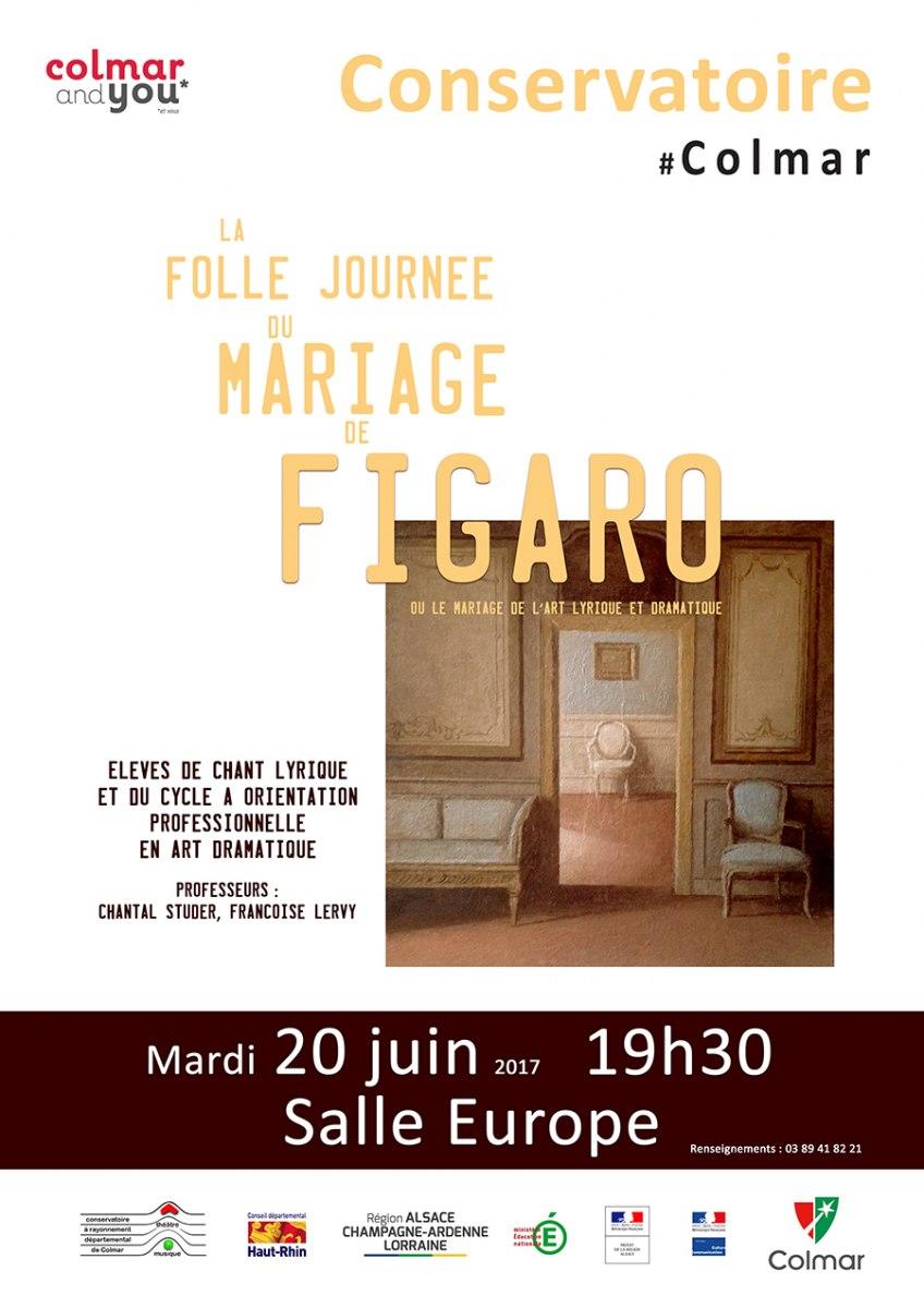 La folle journée du mariage de Figaro