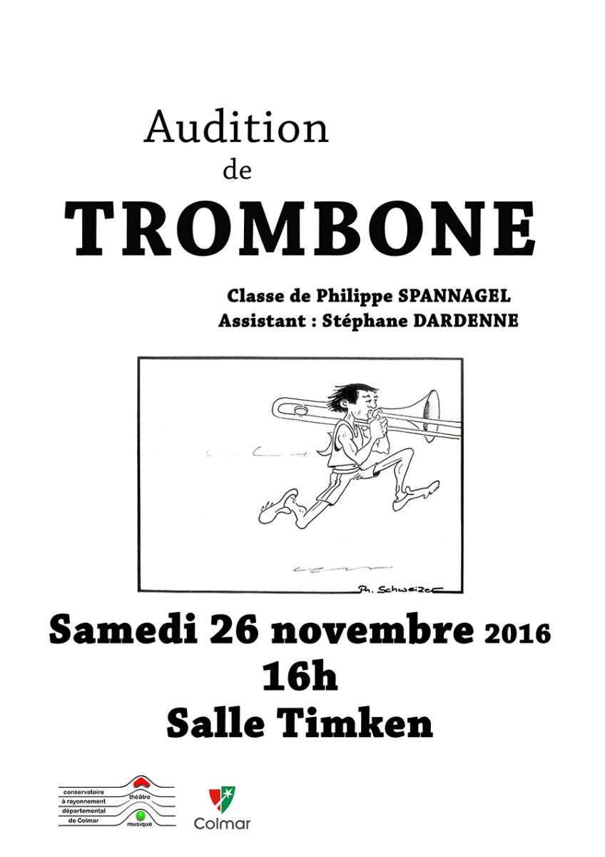 Audition de trombone