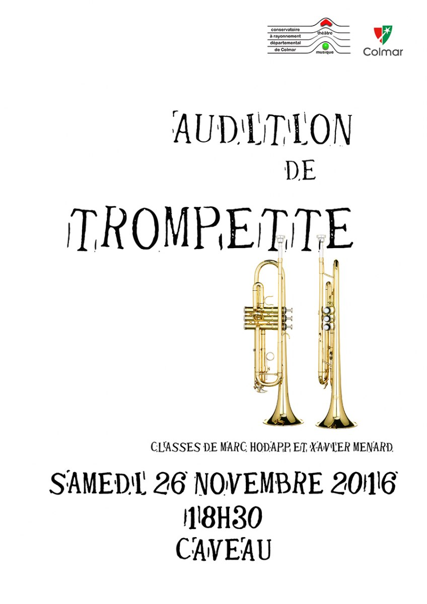 Audition de trompette