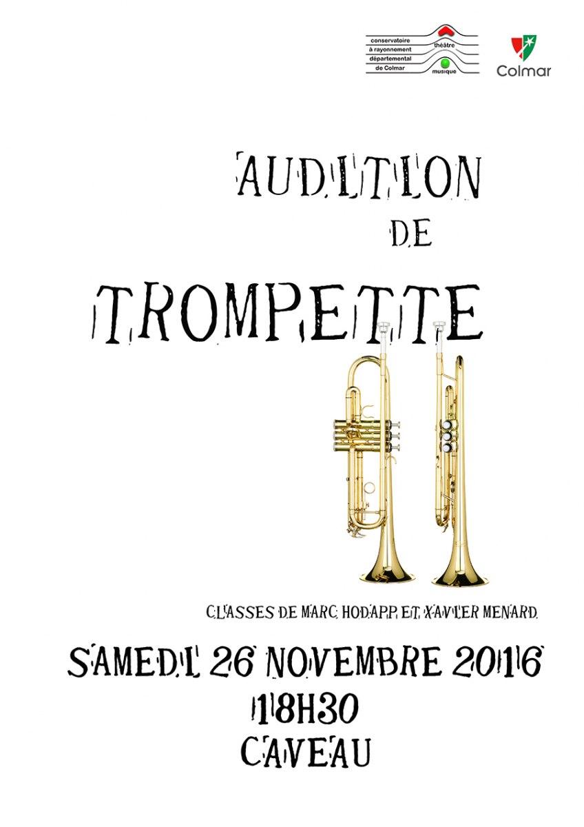 Audition de trompette