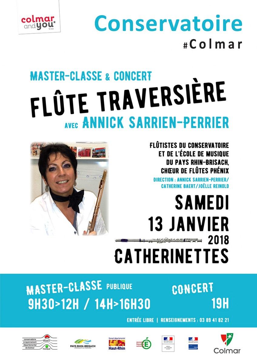 Master-class et concert flûte