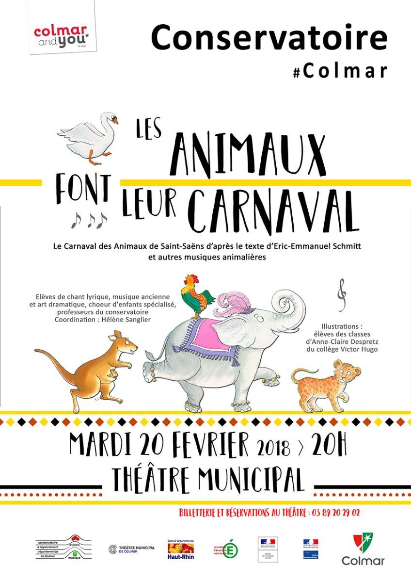 Les animaux font leur carnaval