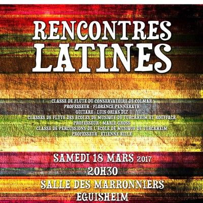Rencontres latines 2017